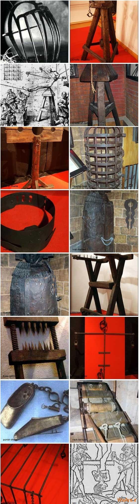وحشیانه ترین ابزار شکنجه قرون وسطی