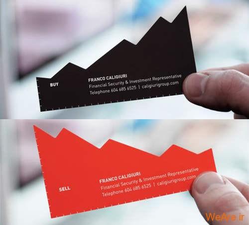کارت های ویزیت خلاقانه و زیبای تجاری (1)