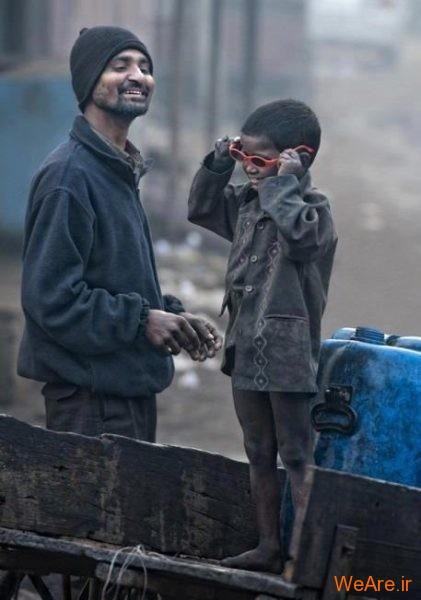 شادی پدر و پسر فقیر