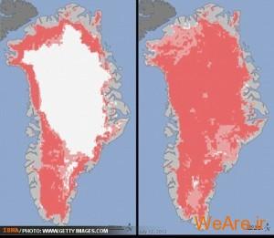 ذوب شدن صفحه یخ قطبی