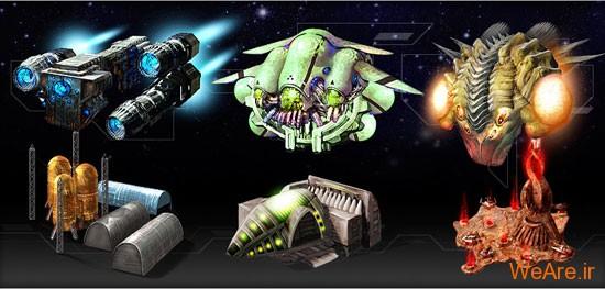 جنگ های فضایی (SpaceWars)