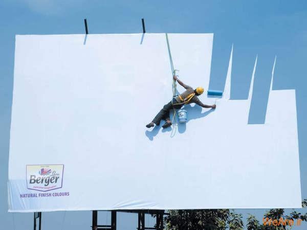 بیلبوردهای تبلیغاتی خلاقانه و خنده دار (1)