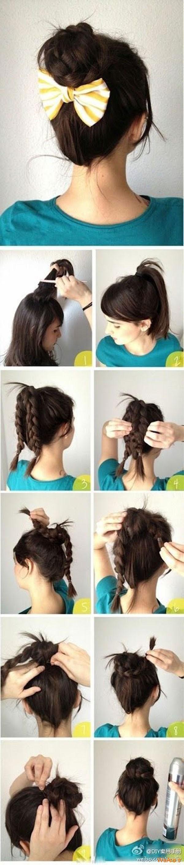 روش های بستن مو (1)