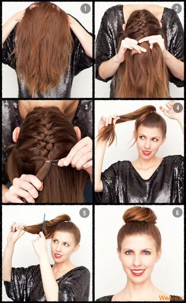 روش های بستن مو (7)