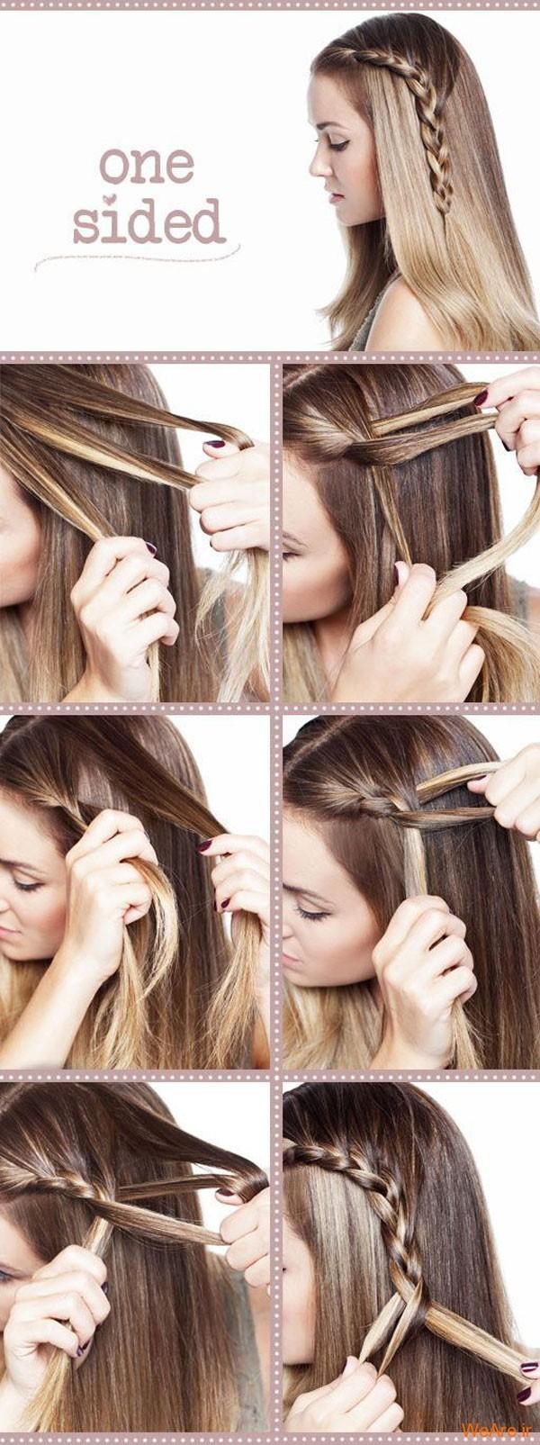 روش های بستن مو (9)