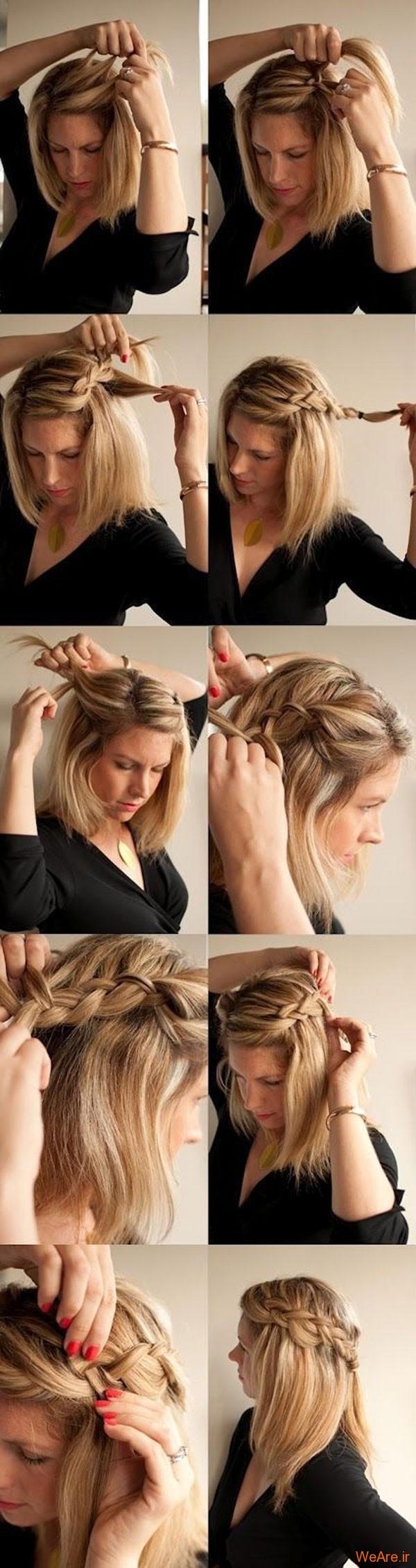 روش های بستن مو (15)