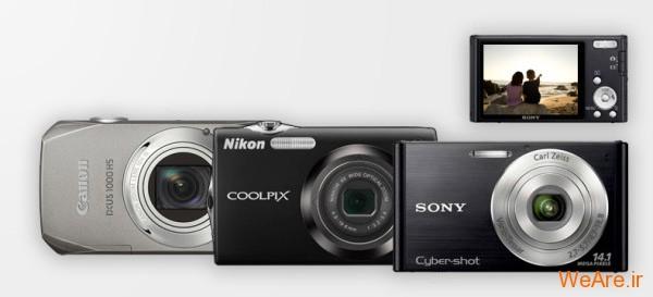 انواع دوربین دیجیتال