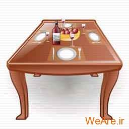 لیاون روی میز