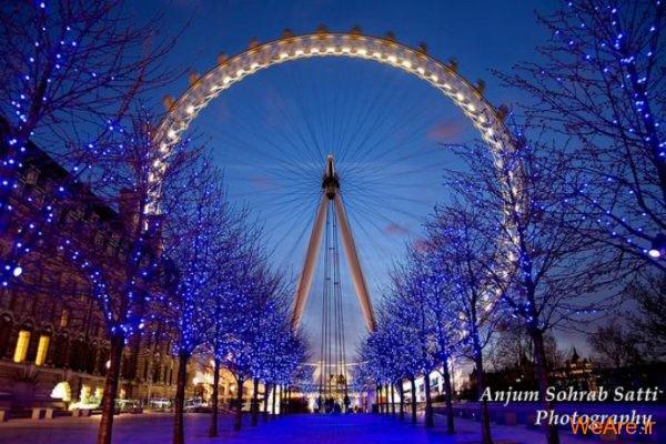 چرخ و فلک انرژی چشم لندن (Energy London Eye)