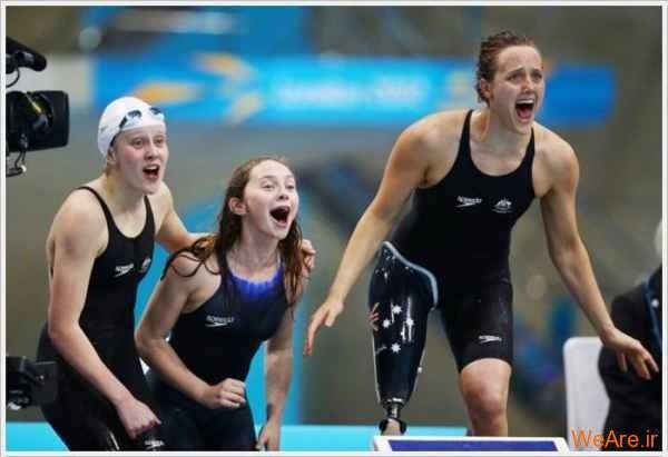 تصاویر تحسین برانگیز پارالمپیک (9)