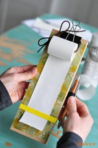 ساخت وسایل هنری از وسیله های ساده (10)