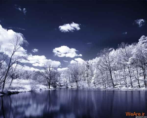 عکس زمستان و برف (7)