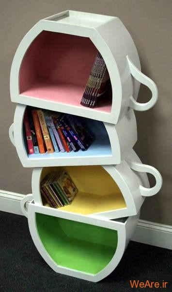 قفسه کتاب خلاقانه, قفیه کتاب زیبا (10)