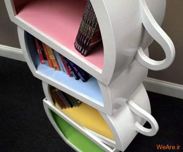 قفسه کتاب خلاقانه, قفیه کتاب زیبا (11)