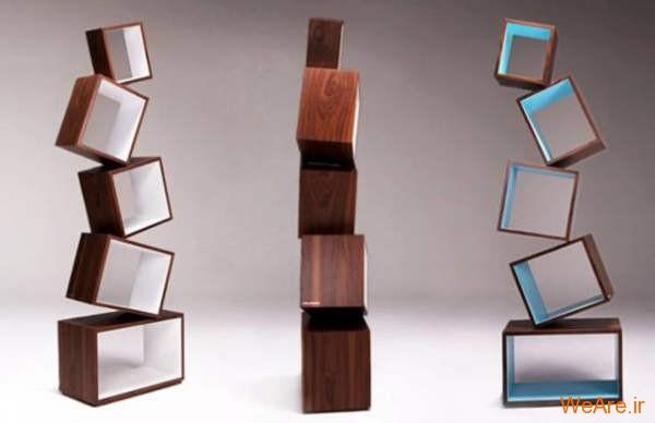 قفسه کتاب خلاقانه, قفیه کتاب زیبا (20)