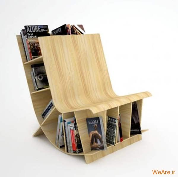 قفسه کتاب خلاقانه, قفیه کتاب زیبا (25)
