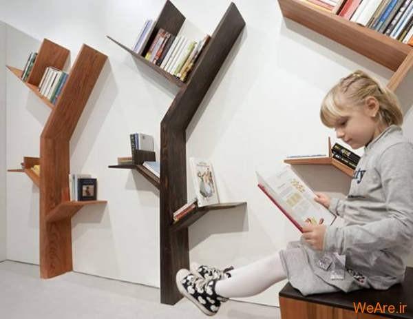 قفسه کتاب خلاقانه, قفیه کتاب زیبا (3)