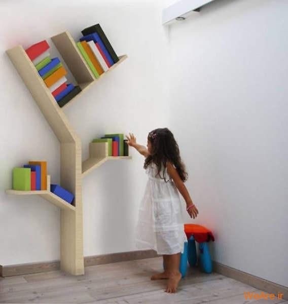 قفسه کتاب خلاقانه, قفیه کتاب زیبا (4)