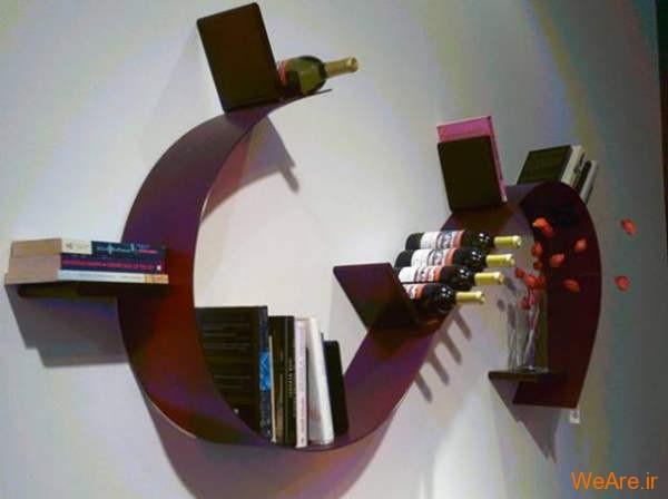 قفسه کتاب خلاقانه, قفیه کتاب زیبا (9)