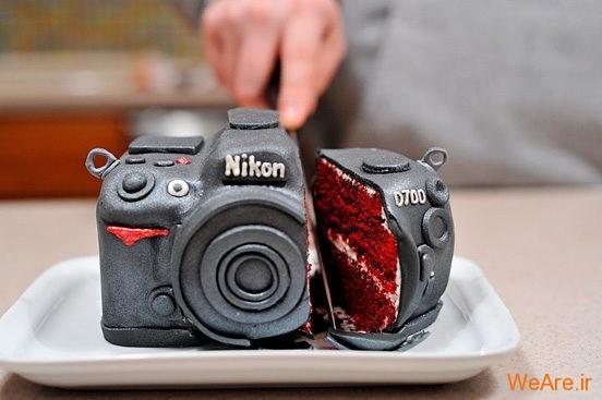 تصاویر خلاقانه، دوربین کیک