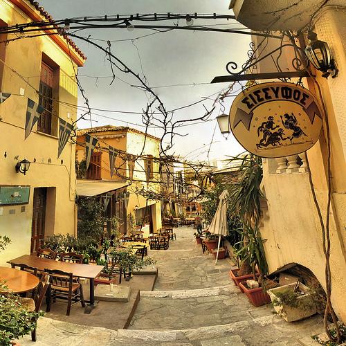 Athènes - Plaka - 19-03-2007 - 7h37 by Panoramas