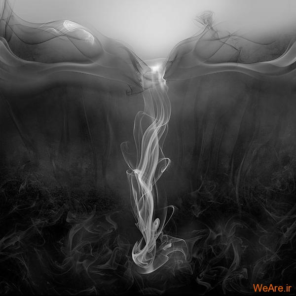 خلق آثار هنری با دود! (15)