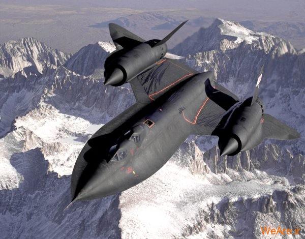 جنگنده SR-71 (1)