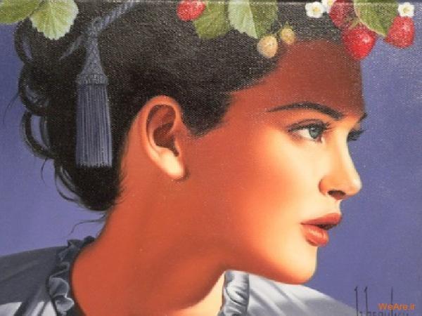 نقاشی های زیبا با موضوعیت چهره زن (17)