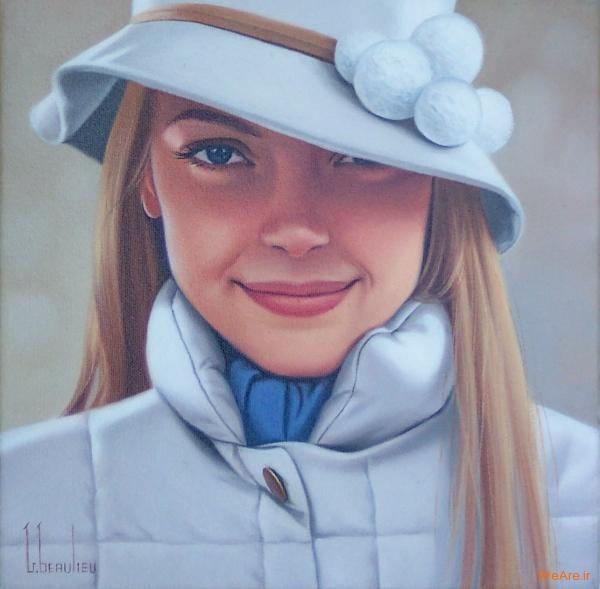 نقاشی های زیبا با موضوعیت چهره زن (20)