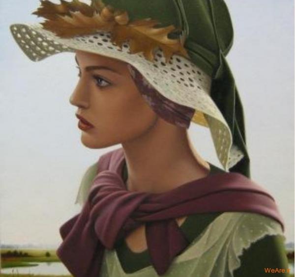 نقاشی های زیبا با موضوعیت چهره زن (22)