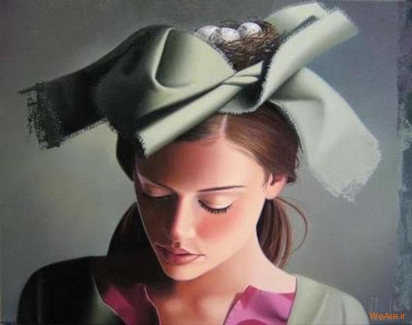 نقاشی های زیبا با موضوعیت چهره زن (24)
