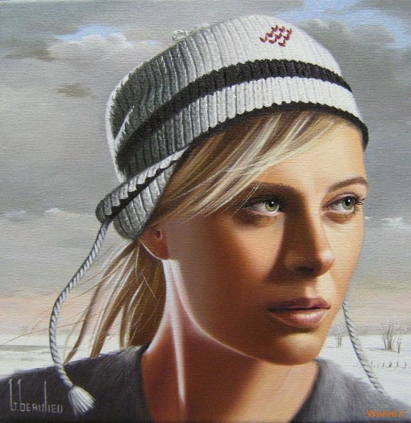 نقاشی های زیبا با موضوعیت چهره زن (25)