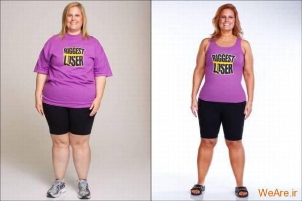 قبل از چاقی, بعد از چاقی,قبل از لاغری, بعد از لاغر شدن (11)