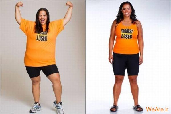 قبل از چاقی, بعد از چاقی,قبل از لاغری, بعد از لاغر شدن (9)
