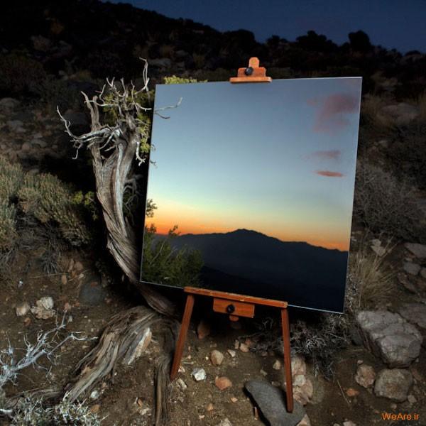 تابلوهای هنری با آیینه (3)