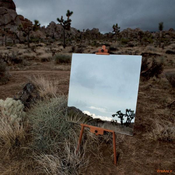 تابلوهای هنری با آیینه (4)