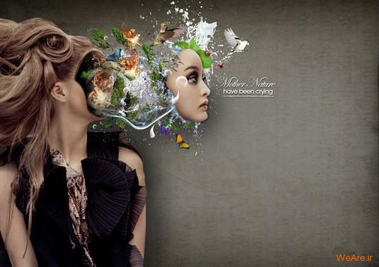 تصاویر هنری با الهام از طبیعت (3)