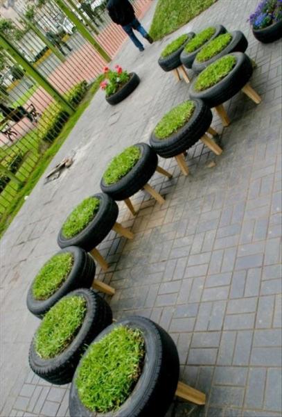 ایده های خلاقانه باغداری (5)