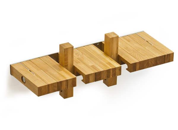 کتابخانه خلاقانه و جالب با چوب (4)