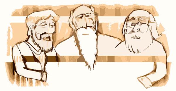 3 پیرمرد