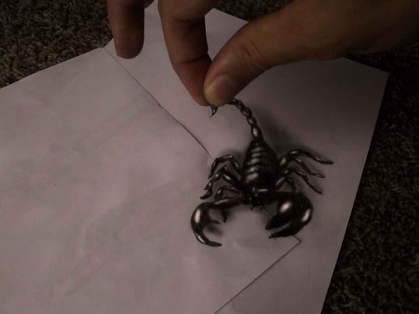 Optical-Illusion-3D-Drawings-on-Paper-by-Ramon-Bruin-aka-JJKAirbrush-35-weare.ir