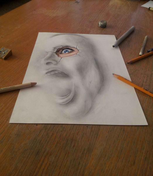 Optical-Illusion-3D-Drawings-on-Paper-by-Ramon-Bruin-aka-JJKAirbrush-40-weare.ir
