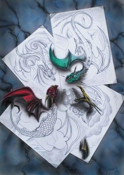 Optical-Illusion-3D-Drawings-on-Paper-by-Ramon-Bruin-aka-JJKAirbrush-42-weare.ir