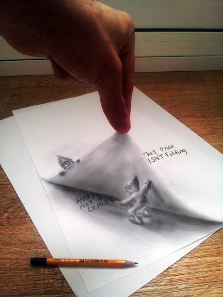 Optical-Illusion-3D-Drawings-on-Paper-by-Ramon-Bruin-aka-JJKAirbrush-52-weare.ir