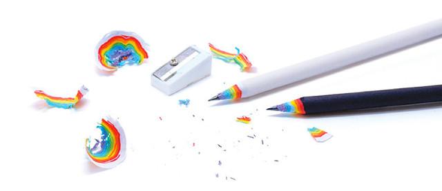 مداد رنگین کمان