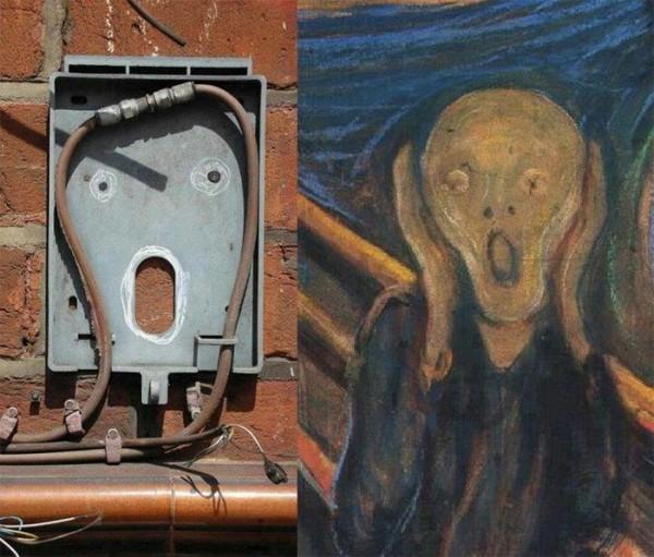 صورت های مخفی در محیط اطراف (5)