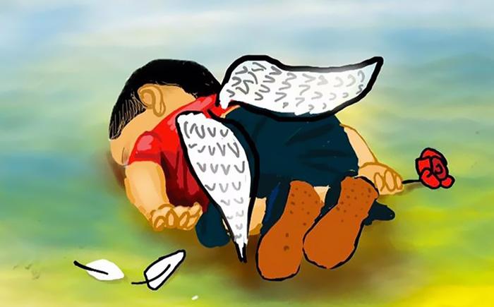 syrian-boy-drowned-mediterranean-tragedy-artists-respond-aylan-kurdi-12__700