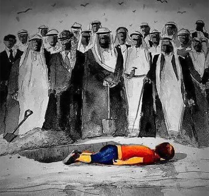 syrian-boy-drowned-mediterranean-tragedy-artists-respond-aylan-kurdi-18__700