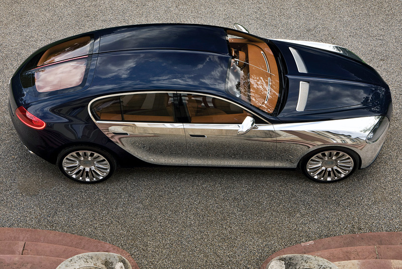 2009 Bugatti 16C Galibier Concept top car rating and specifications