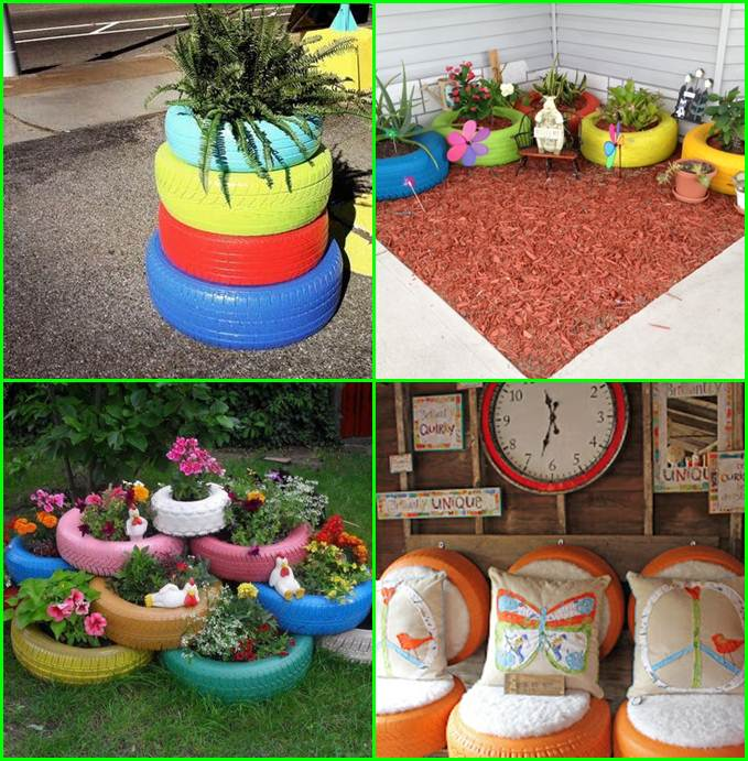 Creative-Decorations-For-Old-Tires
